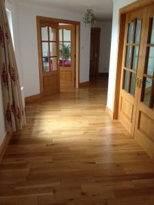 solid oak wood flooring Glasgow