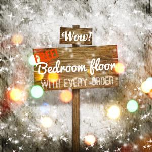 Wood Floor Christmas Offer Image