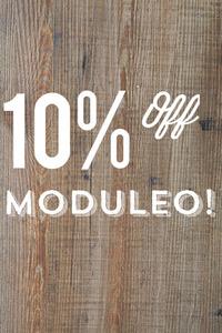 10% off all Moduleo Luxury Vinyl Flooring