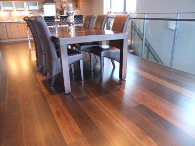 Hardwood Flooring Glasgow Fitting A Walnut Finish