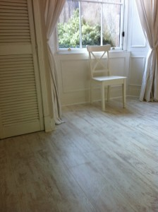 Light or dark wood flooring