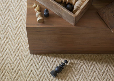 Alternative Flooring Wool Herringbone