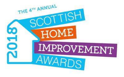 Finalist for the Scottish Home Improvement Awards Scotland's 2018!
