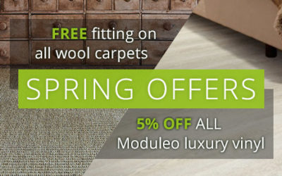 Spring Flooring Offers from First Floors
