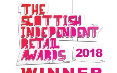WINNER – Scotland's Best Independent Flooring Retailer 2018!
