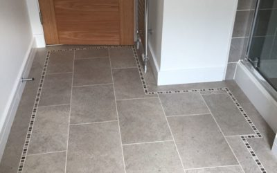 Fitting Karndean Flooring for a customer in Newton Mearns