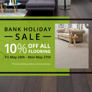 bank holiday sale season