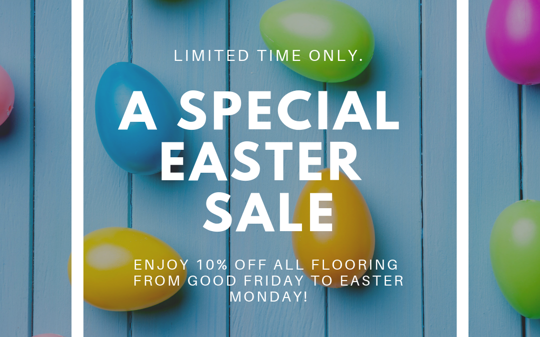 a special easter sale seasonal